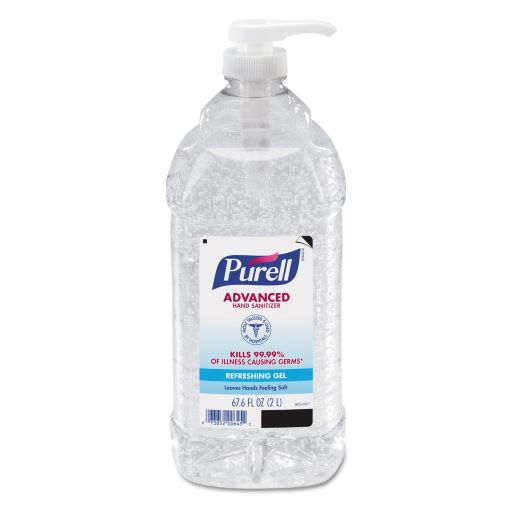 PURELL HAND SANITIZER 2 LITER BOTTLE