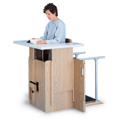 Hydraulic Adjustable Stand-In Table